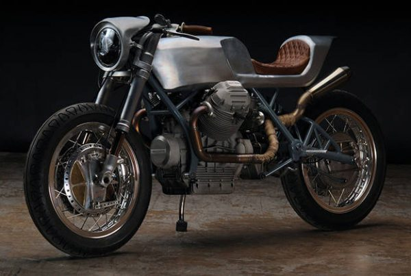 "Moto Guzzi 850 Cafe Racer ""Beto"" by Revival Cycles"