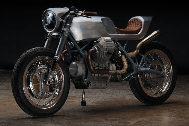 """Moto Guzzi 850 Cafe Racer """"Beto"""" by Revival Cycles"""