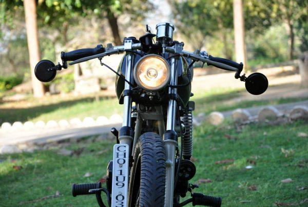 Trackers Yamaha RX135 Tracker by Bambukaat - MotoMatter