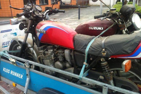 Yamaha XJ550 Tracker by Tim - MotoMatter