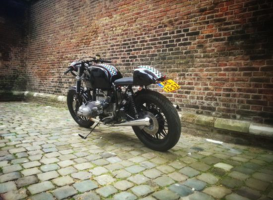 BMW R100 Cafe Racer 'SlickBeast' by 77 Custom Bikes