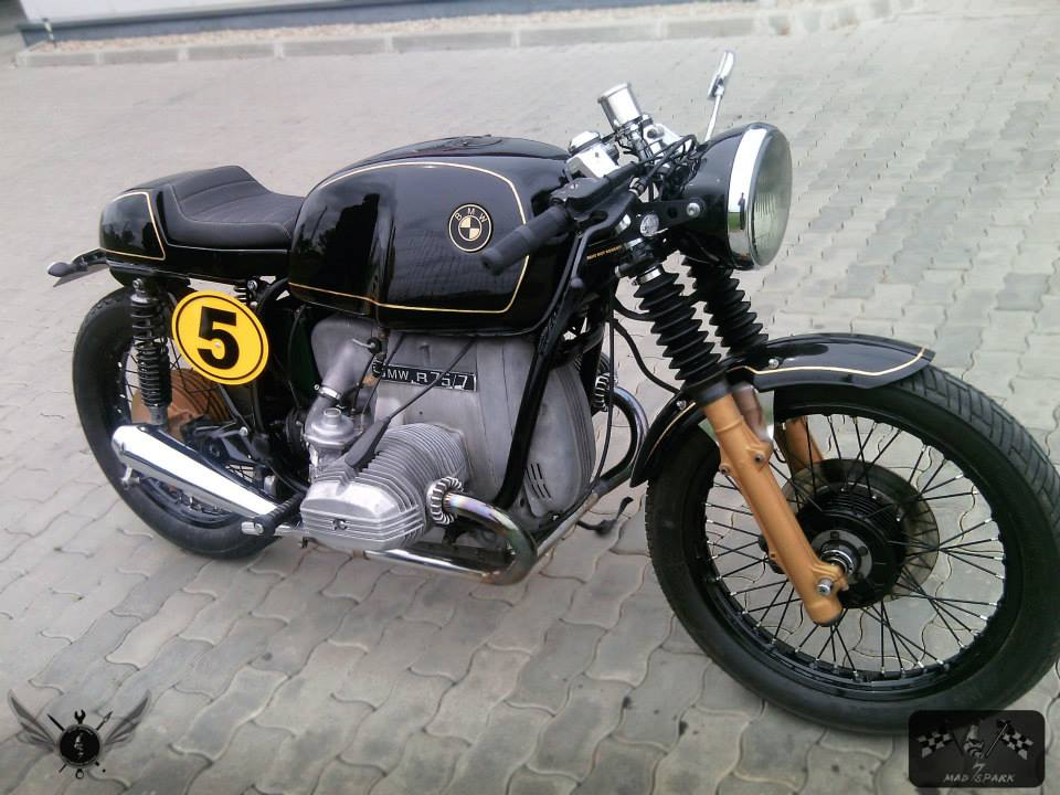 BMW R75 Cafe Racer by Mad Spark Moto - MotoMatter