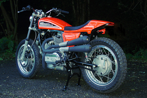 Ducati Tracker by Peter Koren