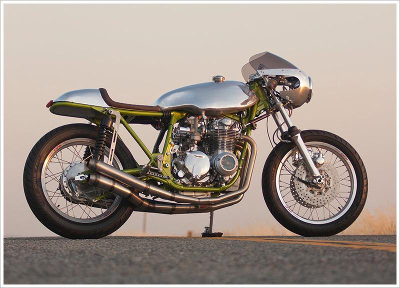 Honda CB550 Cafe Racer by Flying J Customs - MotoMatter