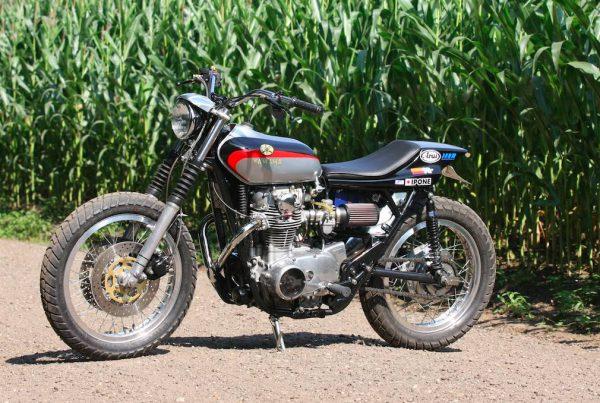 Yamaha XS650 Tracker by Michel van Rossen - MotoMatter