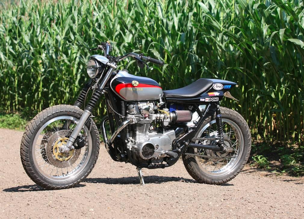 Yamaha XS650 Tracker by Michel van Rossen