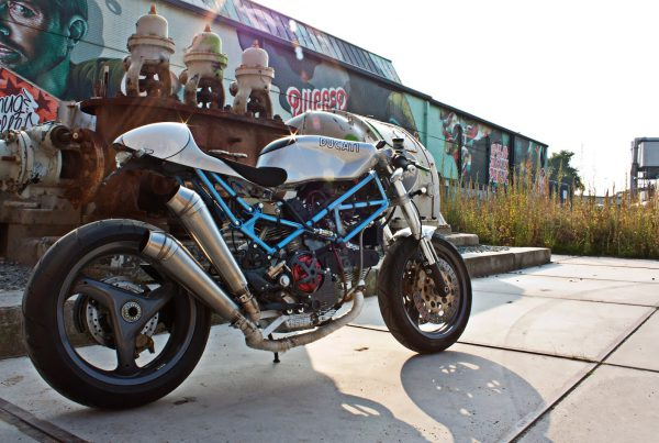 Ducati Monster 900 Cafe Racer by Mario Kusters - MotoMatter