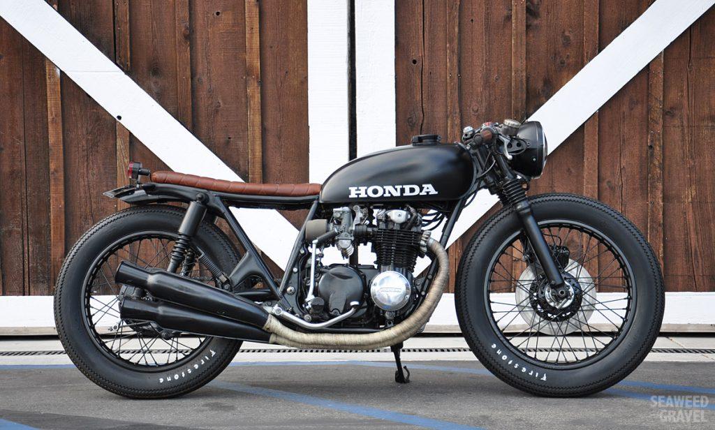 Honda CB550 Brat by S&G