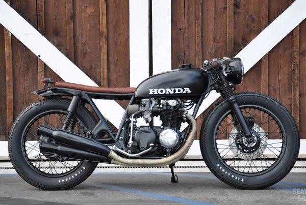 Honda CB550 Brat by S&G - MotoMatter