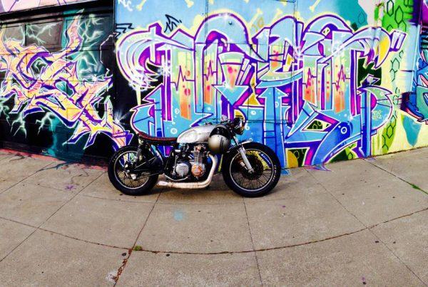 "Honda CB550 Cafe Racer ""Dirty Annie"" by Ezikiel - MotoMatter"