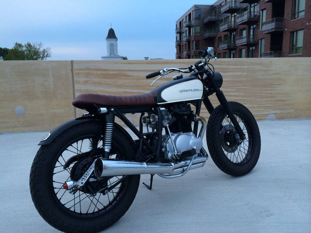 Honda CB360 Cafe Racer by Dallas Ziebell