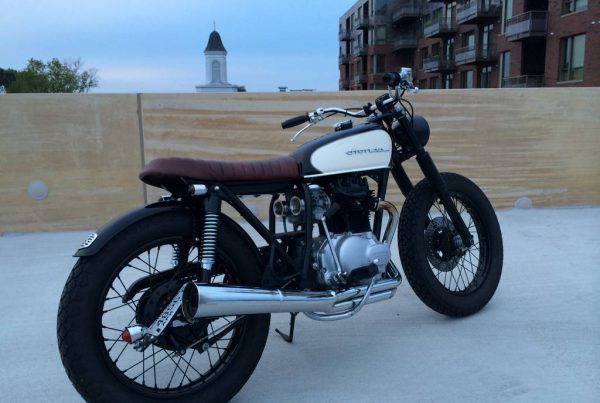 Honda CB360 Cafe Racer by Dallas Ziebell - MotoMatter