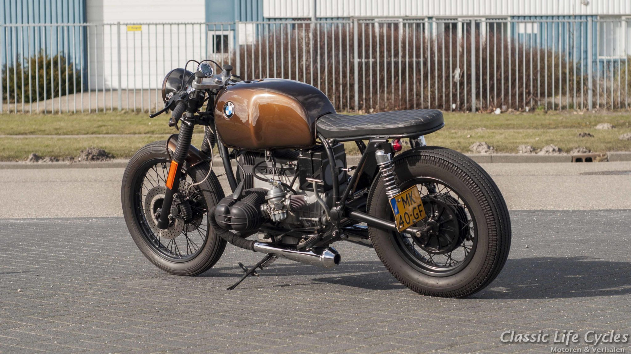 BMW R80 ''The Cannonball'' – Ironwood Custom Motorcycles