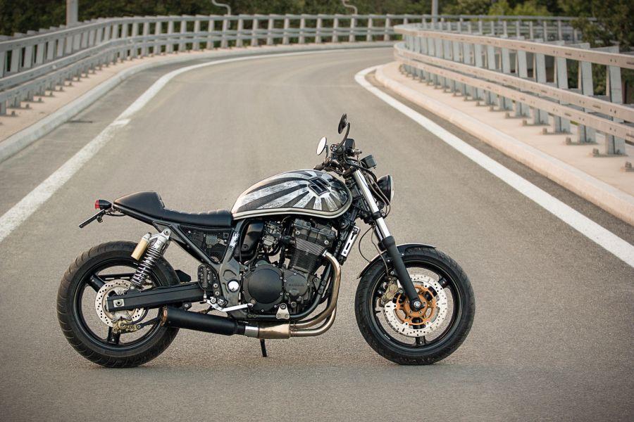 "Suzuki Inazuma GSX1200 ""Dragster"" - MotoMatter"