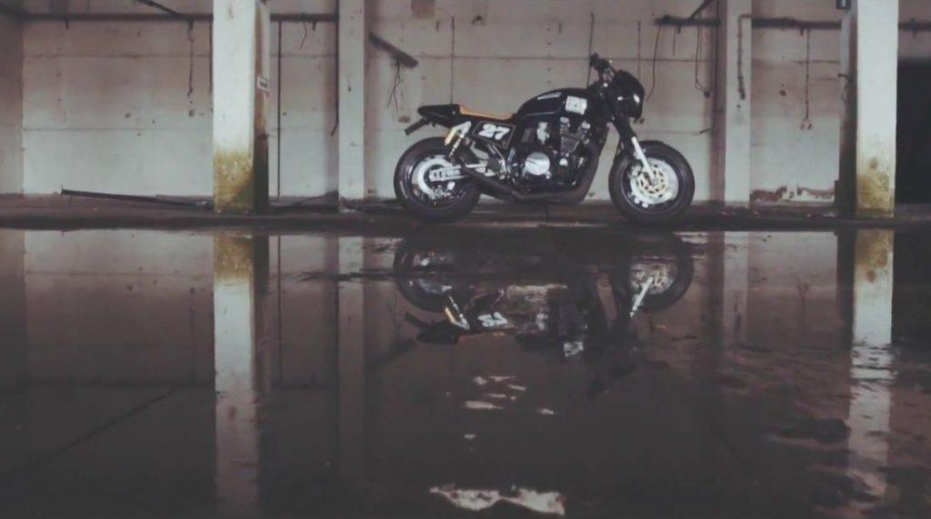 Yamaha XJR 1200 Cafe Racer by espiat.com
