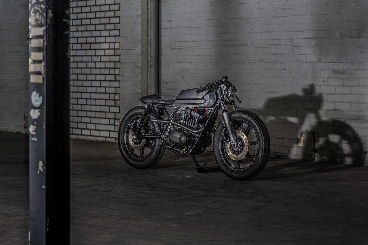 Yamaha XS500 Cafe Racer by Goodspeed Customs