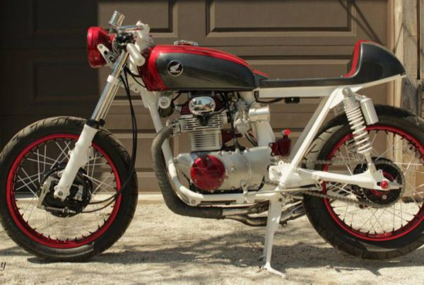 CB350 Cafe Racer by Bullit Custom Cycles - MotoMatter