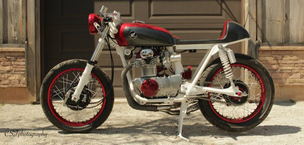 CB350 Cafe Racer by Bullit Custom Cycles