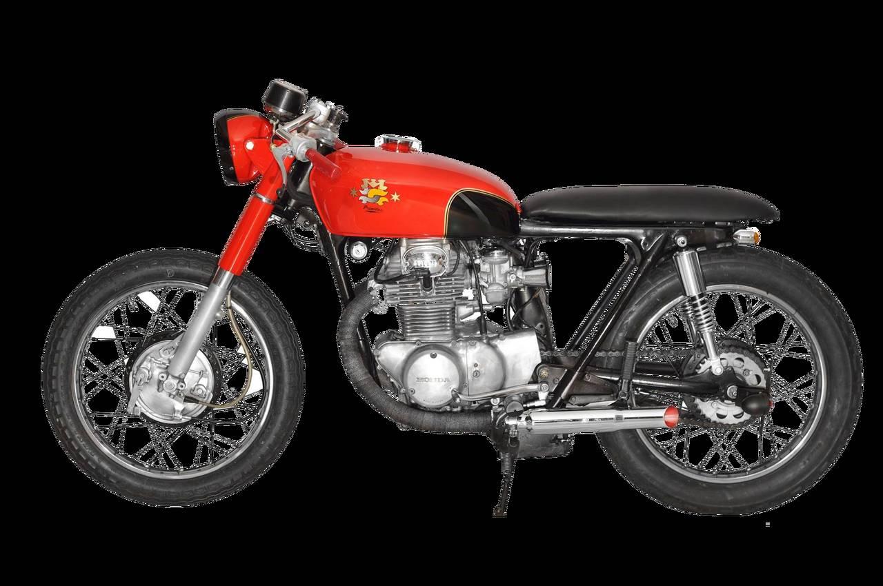 Honda CB350 Cafe Racer by CMC (NY) – The Primitus - MotoMatter