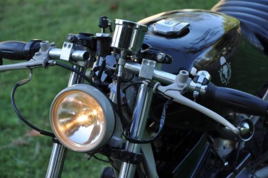 Yamaha RX125 Cafe Racer by Bambukaat 5