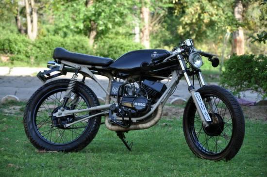 Yamaha RX125 Cafe Racer by Bambukaat 8