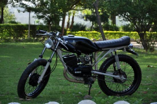 Yamaha RX125 Cafe Racer by Bambukaat 2 9