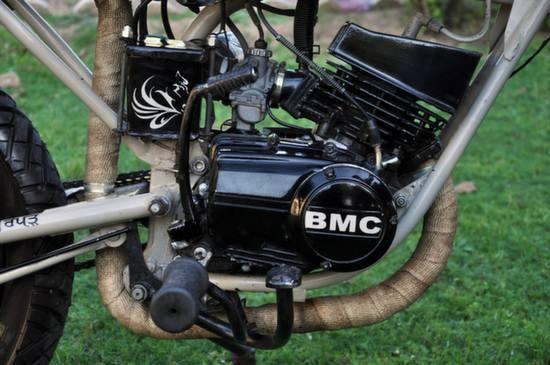 Yamaha RX125 Cafe Racer by Bambukaat