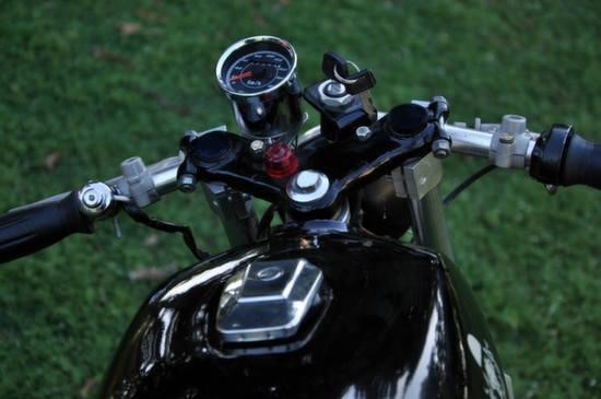 Yamaha RX125 Cafe Racer by Bambukaat 2 3