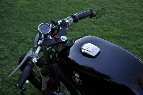 Yamaha RX125 Cafe Racer by Bambukaat 2 2