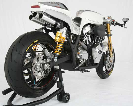 Darwin Motorcycles RLX Cafe Racer 1