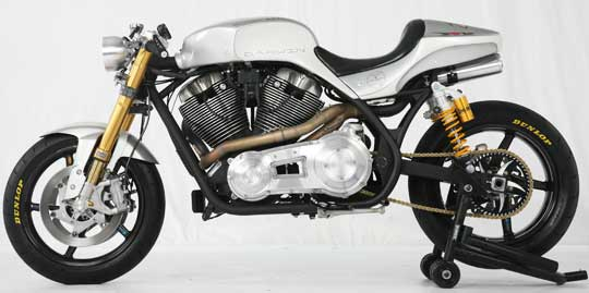 Darwin Motorcycles RLX Cafe Racer 2