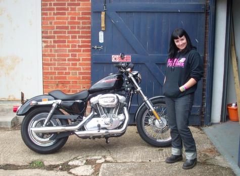 Harley Cafe Racer 1