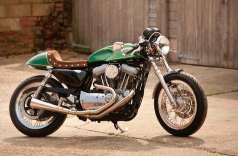 Harley Cafe Racer 14