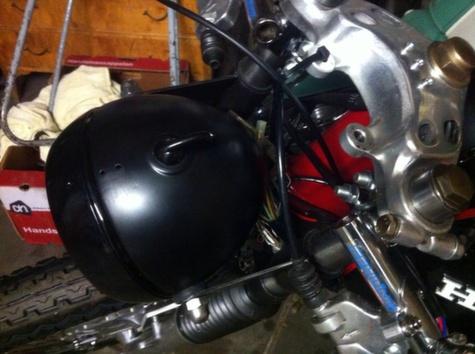Honda CB350 Cafe Racer 10