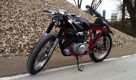 Honda CB350 Cafe Racer 20