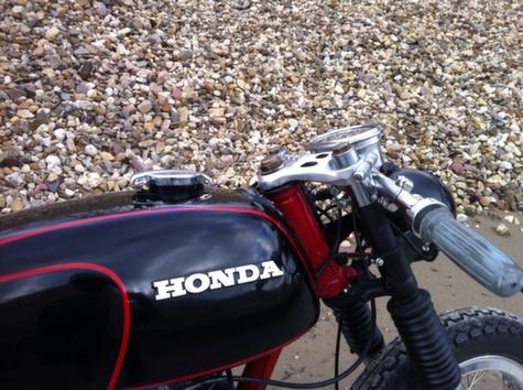 Honda CB350 Cafe Racer 22