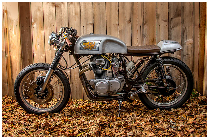 Honda CB360 Cafe Racer, The 3RM Project 1