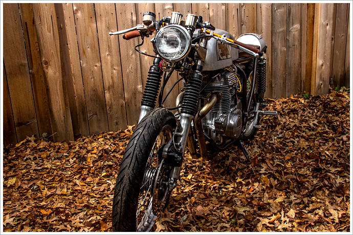 Honda CB360 Cafe Racer, The 3RM Project 3