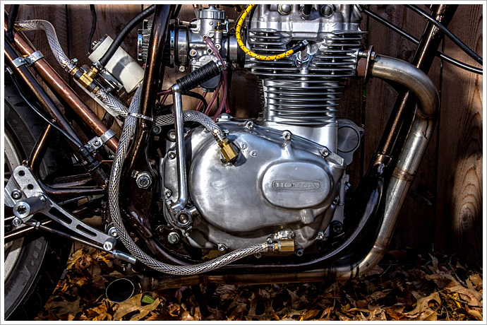 Honda CB360 Cafe Racer, The 3RM Project 4