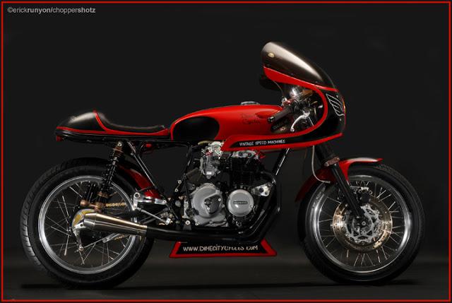 Honda CB400 Cafe Racer Dime City Cycles 3