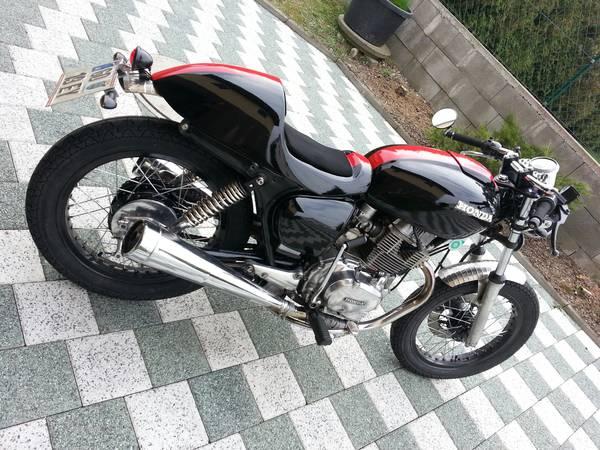 Honda CB400T Cafe Racer
