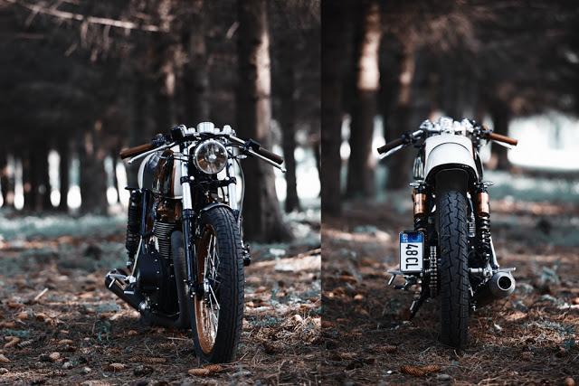 Honda CB500 Cafe Racer 1