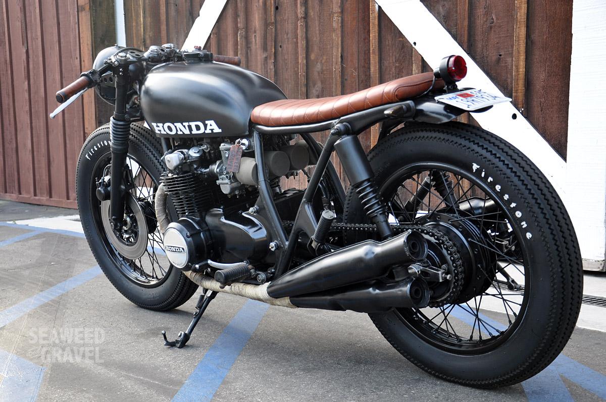 Honda CB550 Brat by S&G 3