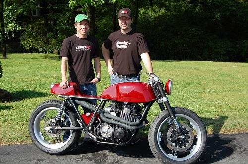 Honda CB750 Cafe Racer 3