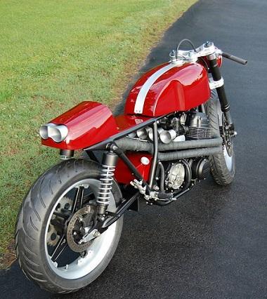 Honda CB750 Cafe Racer 4