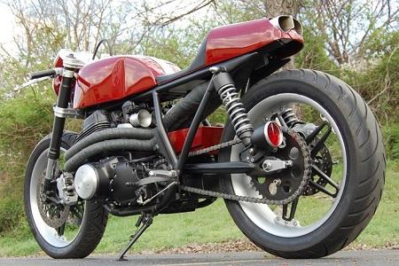 Honda CB750 Cafe Racer 5