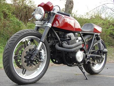 Honda CB750 Cafe Racer 6
