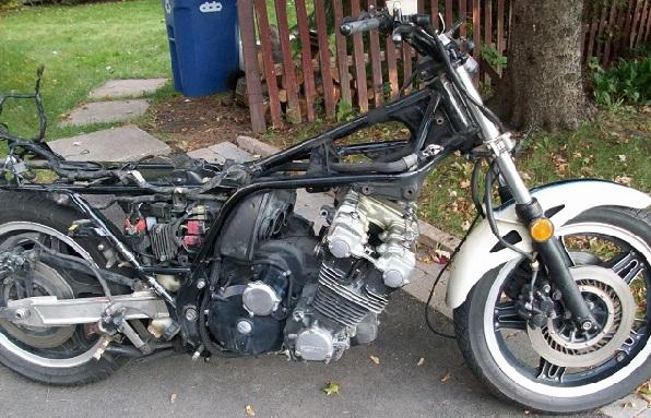 Honda CBX1000 Cafe Racer 1