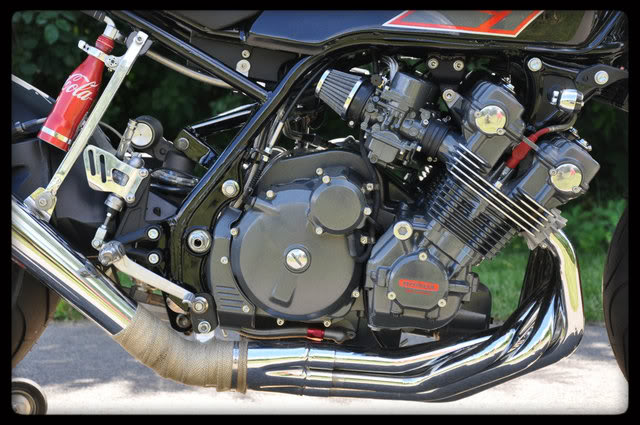 Honda CBX1000 Cafe Racer by Mike Common 1