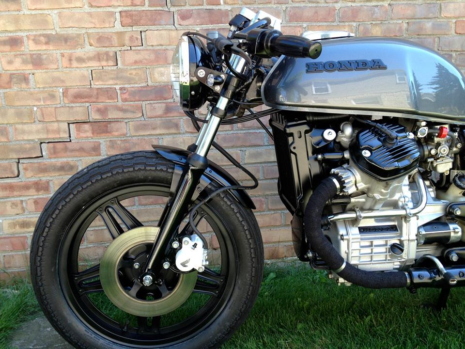 Honda CX500 Cafe Racer by Dallas Ziebell 3